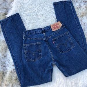 Vintage 501 Levi's High Waist Mom Jeans